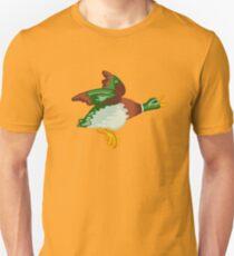 Home Sweet Home - Flying Mallard Repeating Pattern T-Shirt