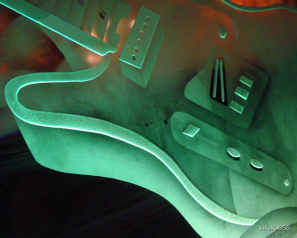 Neon Guitar by keleka656