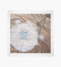 Sepia dandelion seed Scarf