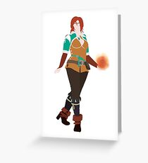 Triss Merrigold - The Witcher Greeting Card