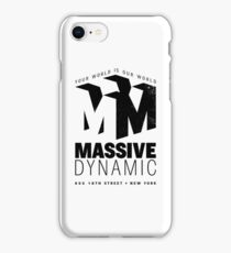 Massive Dynamic – Your World Is Our World Variant iPhone Case/Skin