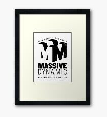 Massive Dynamic – Your World Is Our World Variant Framed Print