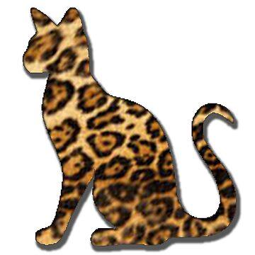 Jaguar Cat Sticker by YouTag