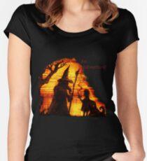An Adventure?  Women's Fitted Scoop T-Shirt