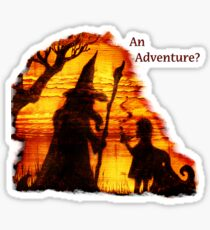 An Adventure?  Sticker