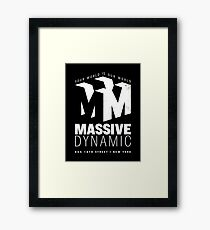 Massive Dynamic – Your World Is Our World Variant Reverse Framed Print