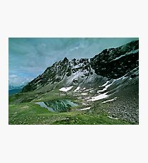Morning snow at Hochjoch, Austria Photographic Print