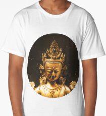 Cosmic Buddha  Long T-Shirt