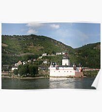 Burg Pfalz Poster