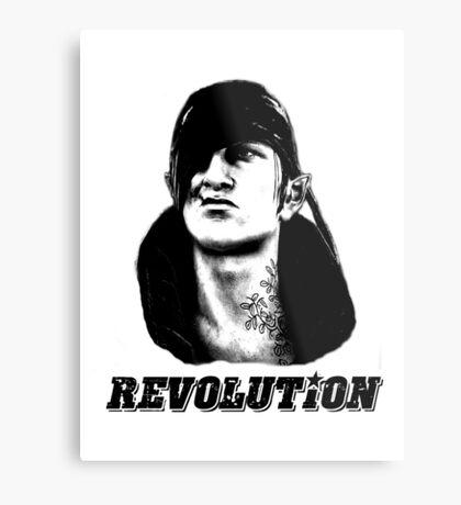 Che Iorveth - Viva la Scoia'tel Revolution! Metal Print