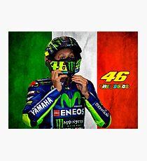 Valentino Rossi Photographic Print