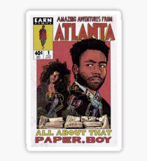 Amazing Adventures From Atlanta Sticker