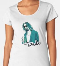 The Dude, The big Lebowski Women's Premium T-Shirt