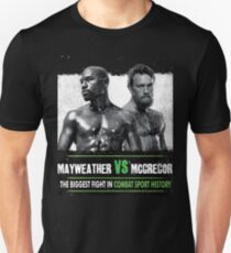 Money Fight McGregor Vs Mayweather T-Shirt