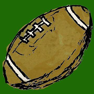 Sketchy Football by cephasgarrett
