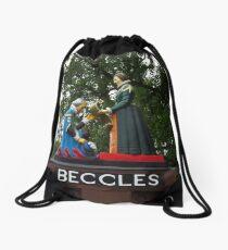 Beccles, Suffolk Drawstring Bag
