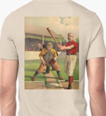 OLD SCHOOL, AMERICAN, BASEBALL, SPORT, POSTER, ANTIQUE, BALL, SOFTBALL, Pitch, Pitcher, Sport, Game, Bat and Ball game T-Shirt