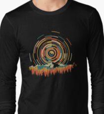 The Geometry of Sunrise Long Sleeve T-Shirt