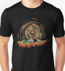 The Geometry of Sunrise Slim Fit T-Shirt