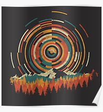 The Geometry of Sunrise Poster