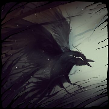 hold, release: raven by BluValor