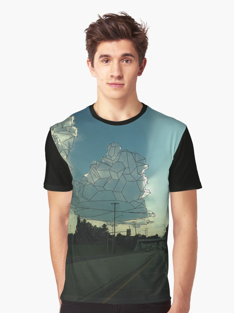Crystal Clouds Graphic T-Shirt Front