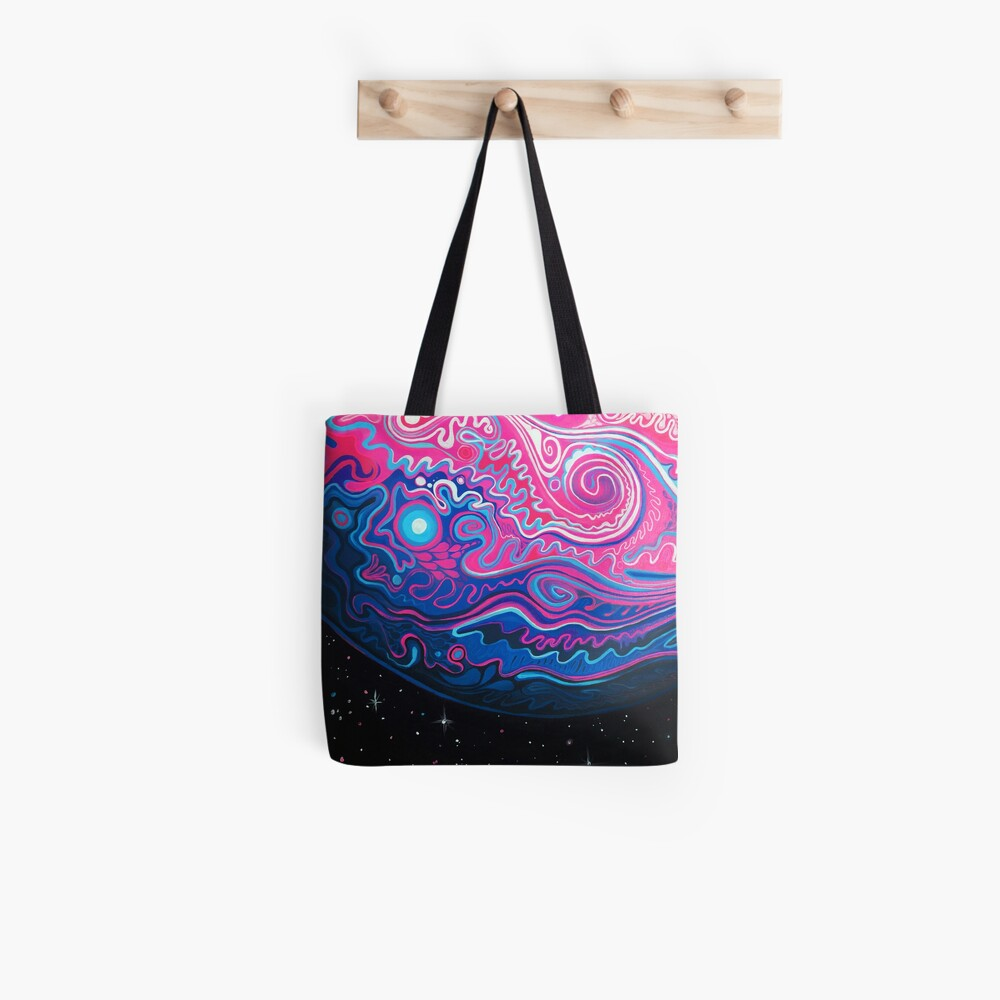 Jupiter - Acrylmalerei Tote Bag