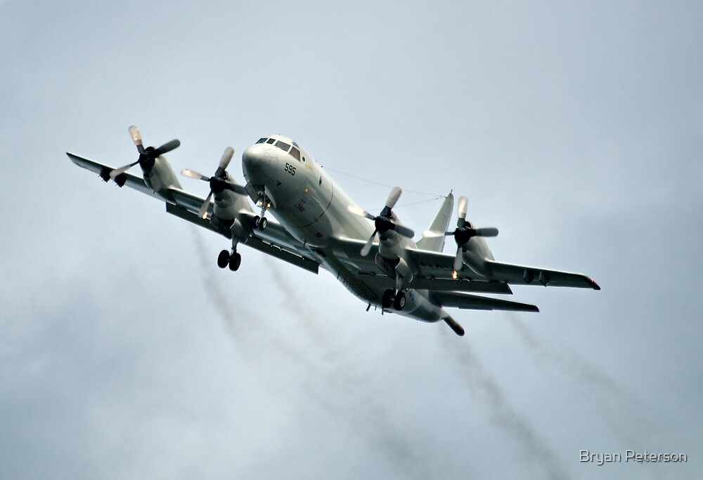 P-3 Orion Flying by Bryan Peterson