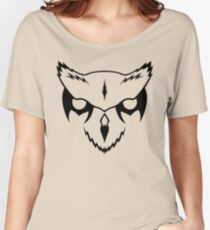 """""""The owl of Minerva spreads its wings only with the falling of the dusk."""" Women's Relaxed Fit T-Shirt"""
