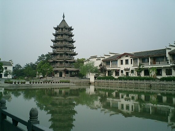 Tonglu tower in China by chord0