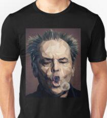 Camiseta unisex Jack Nicholson - Bajo poli