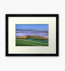Picture Perfect Pienza, Tuscany Framed Print
