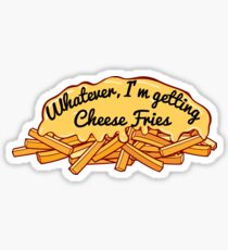 Cheese Fries Sticker