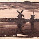 Zaanse Schans Blueprint. by VanOostrum