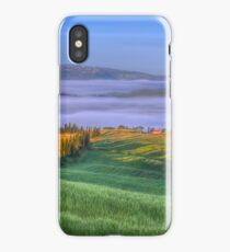 Picture Perfect Pienza, Tuscany iPhone Case/Skin