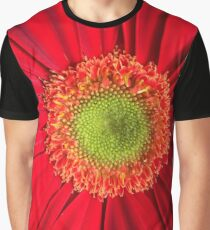 red flower Graphic T-Shirt