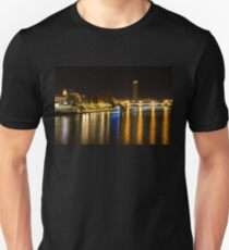 Seville Night Magic - Triana Bridge and the One and Only Skyscraper T-Shirt