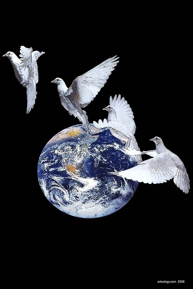 Peace on Earth by arteology