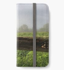 Fenceline Fog iPhone Wallet/Case/Skin