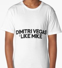 Dimitri Vegas & Like Mike Long T-Shirt