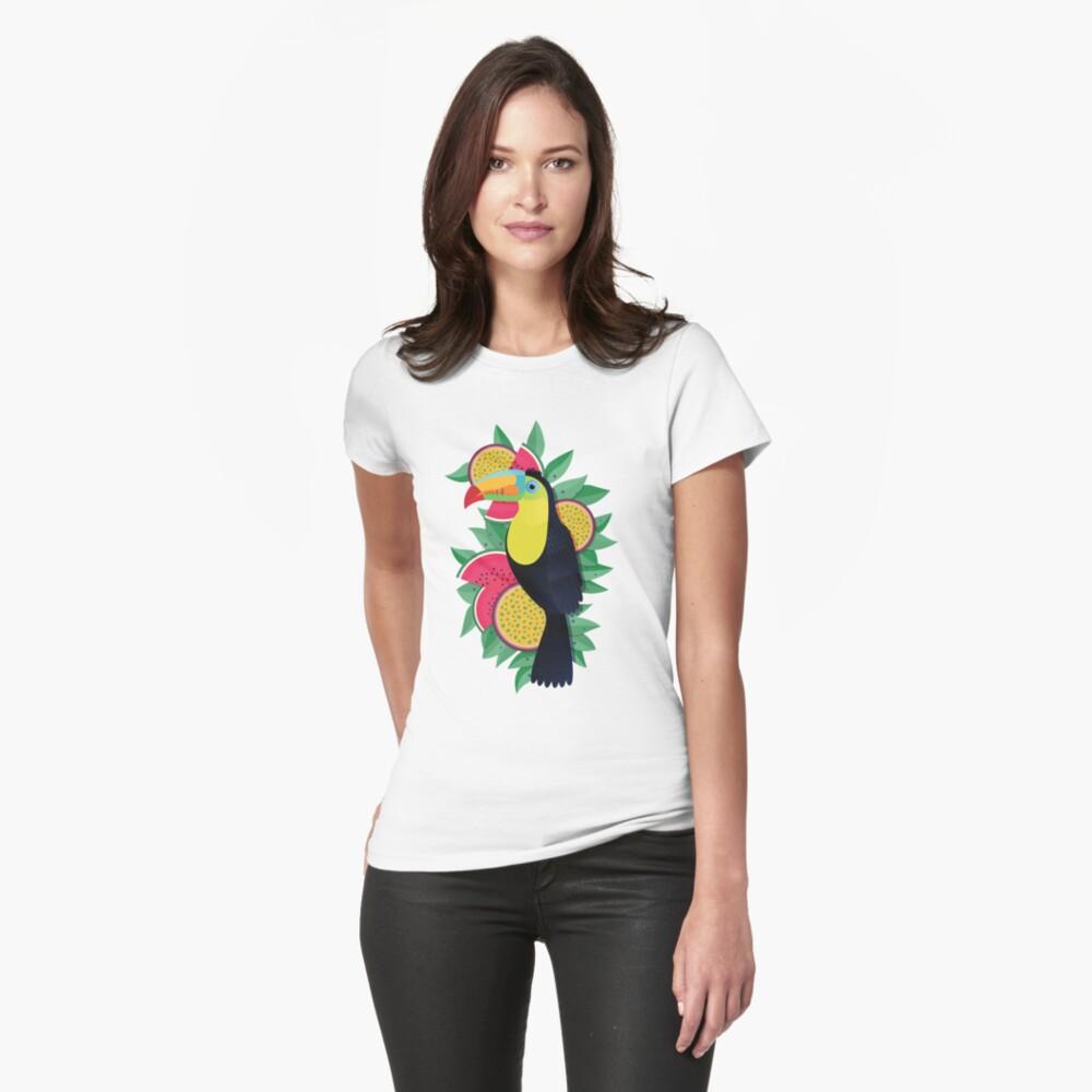 Tropical toucan Womens T-Shirt Front