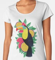 Tropical toucan Women's Premium T-Shirt