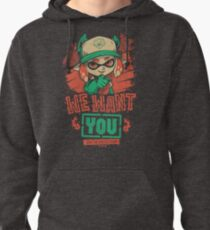 We Want You! Pullover Hoodie