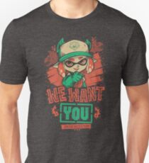 Camiseta unisex We Want You!