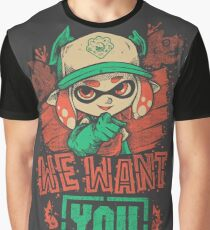 We Want You! Graphic T-Shirt