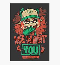 We Want You! Photographic Print