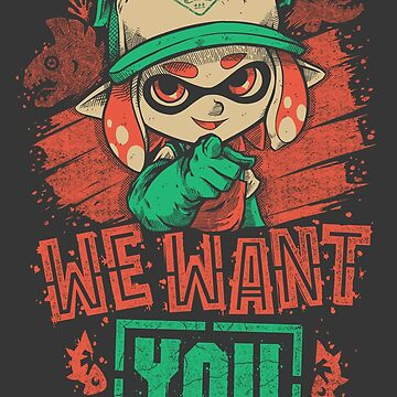 We Want You! by MeleeNinja