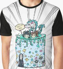 Spirited Cake Graphic T-Shirt