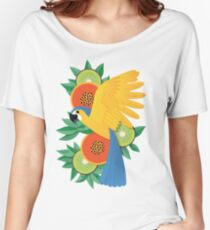Tropical parrot Women's Relaxed Fit T-Shirt