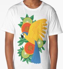 Tropical parrot Long T-Shirt